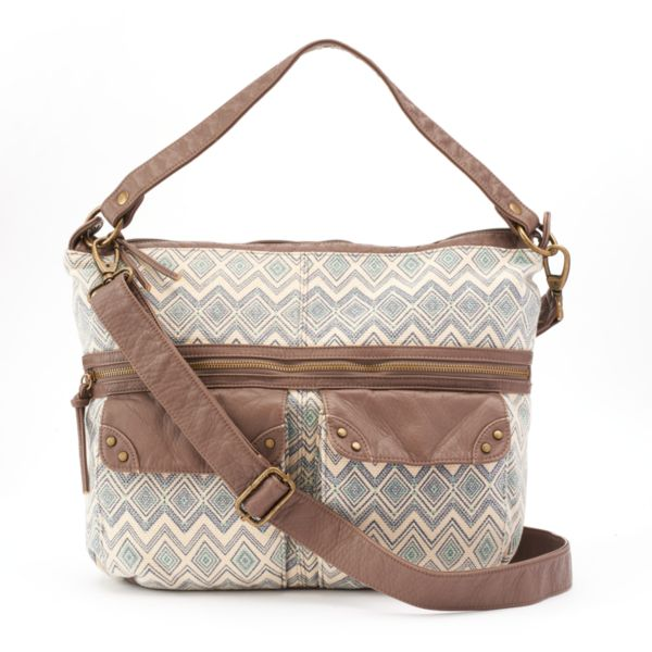 SONOMA Goods for Life™ Cheyenne Geometric Crossbody Bag