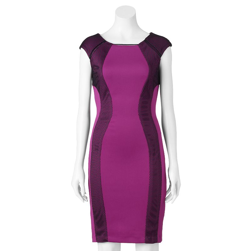 Women's Jax Mesh Sheath Dress
