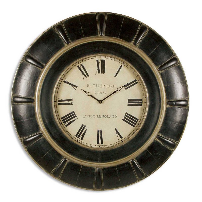 Rudy Wall Clock, Multicolor