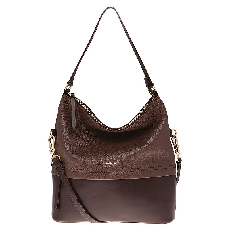 Lodis Sunny Kate Leather Convertible Hobo