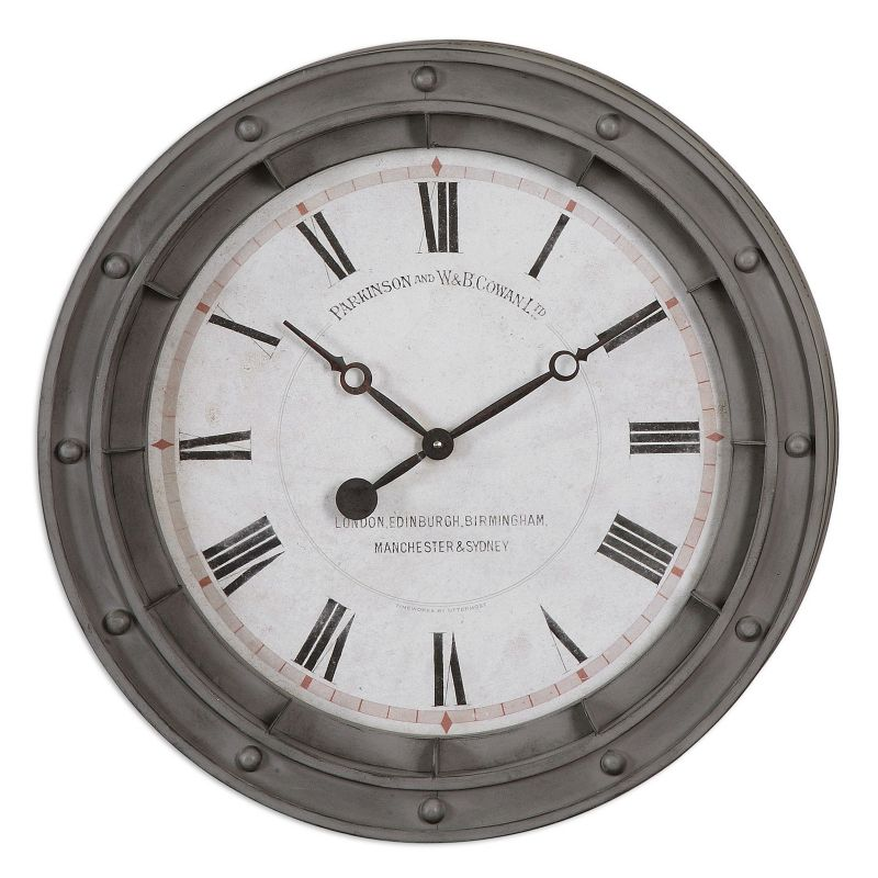 Porthole Wall Clock, Multicolor