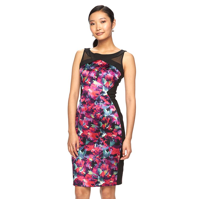 Women's Suite 7 Floral Sheath Dress