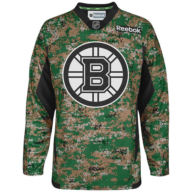 Men's Reebok Boston Bruins Camo Jersey