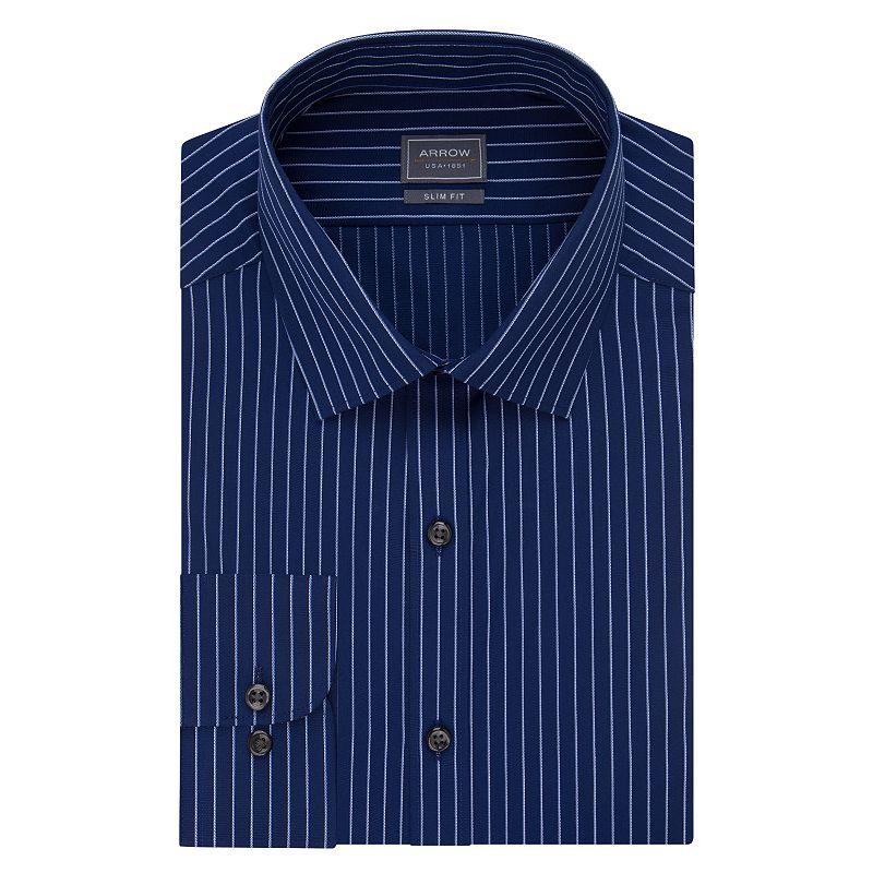 Men's Arrow Slim-Fit Wrinkle-Free Dress Shirt