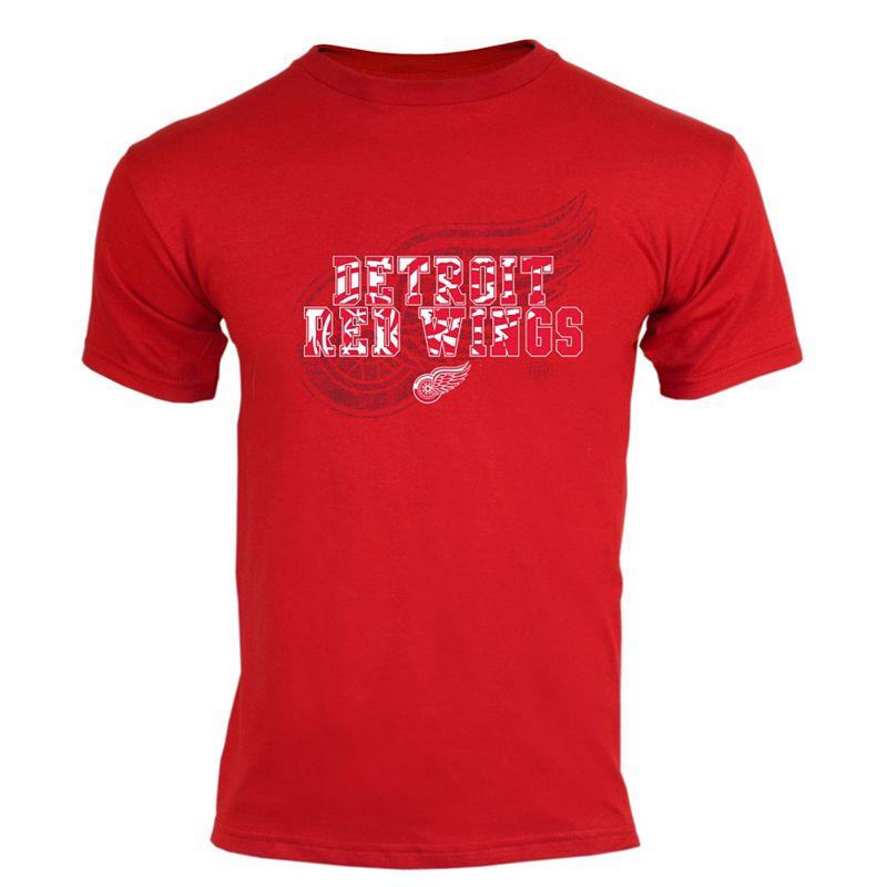 Men's Old Time Hockey Detroit Red Wings Mystic Tee