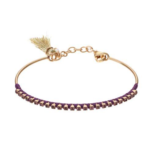 Ava + Amelia Tassel Cuff Bracelet