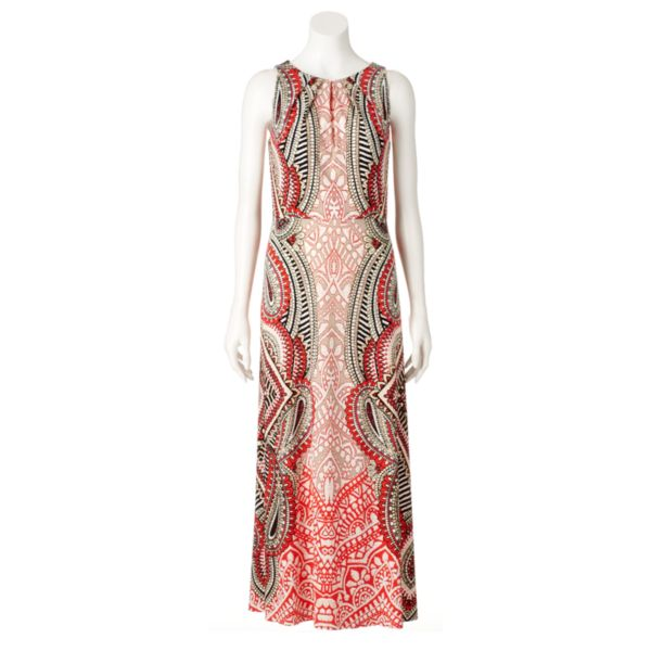 Women's Suite 7 Scroll Maxi Dress