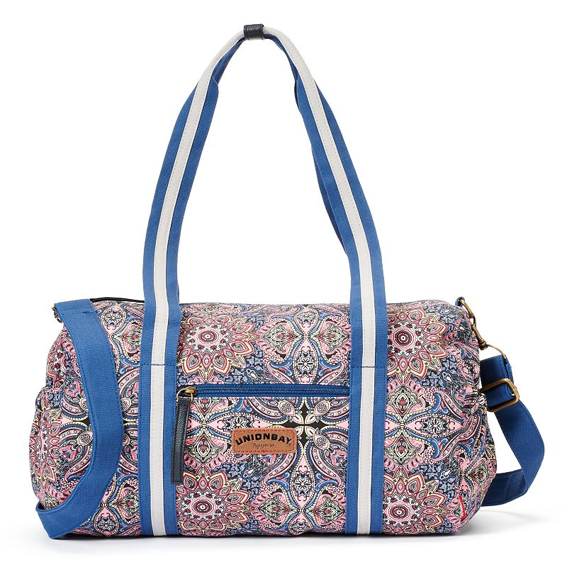 Unionbay Kaleidoscope Convertible Weekender Bag
