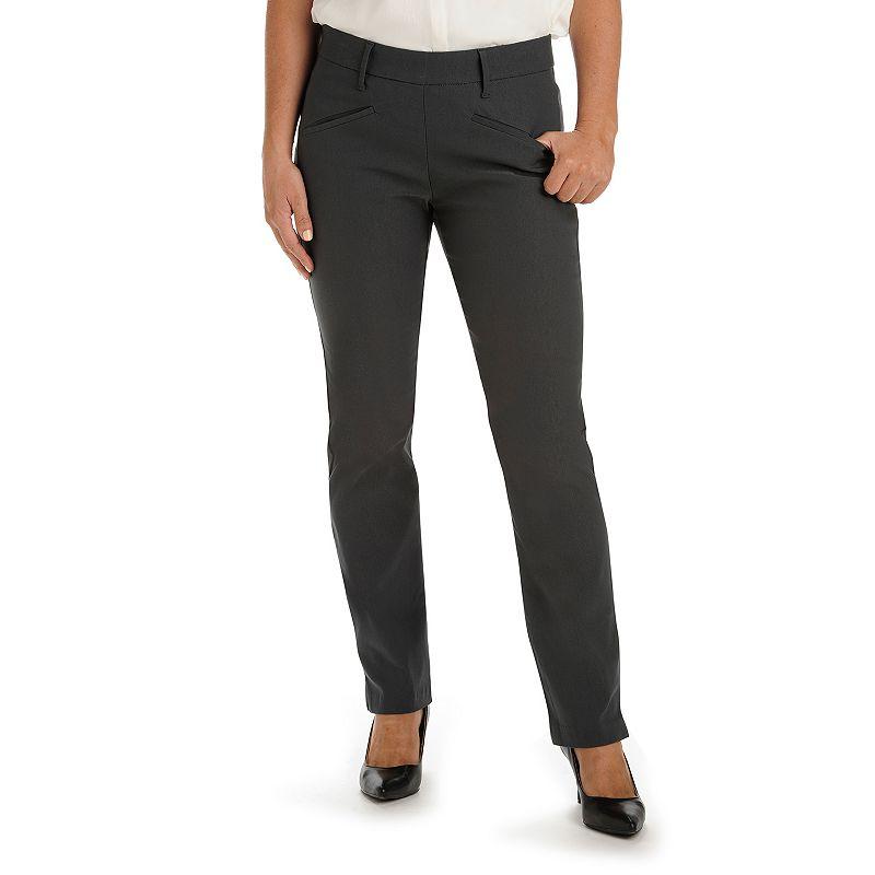 Lee Ivy Slim Straight-Leg Dress Pants - Women's
