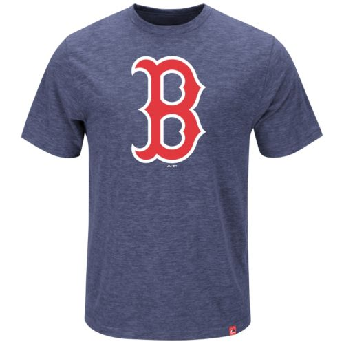 Men's Majestic Boston Red Sox Mental Metal Tee