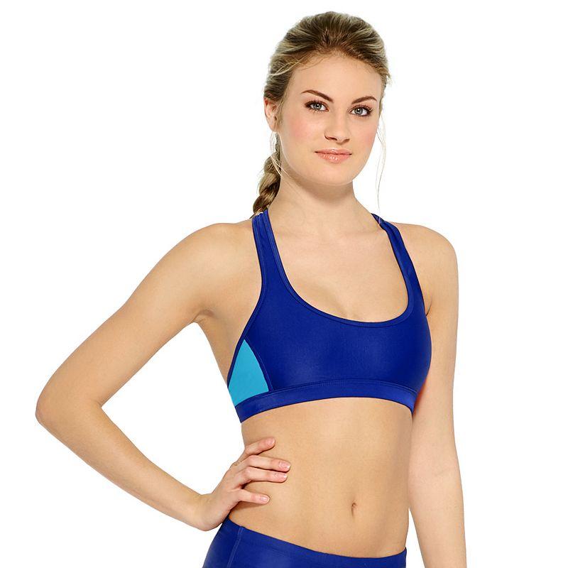 Women's Champion Colorblock Racerback Bikini Top