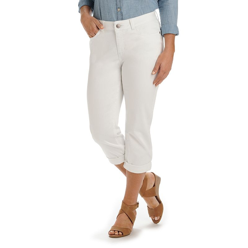 Women's Lee Isla Modern Fit Cuffed Denim Capris