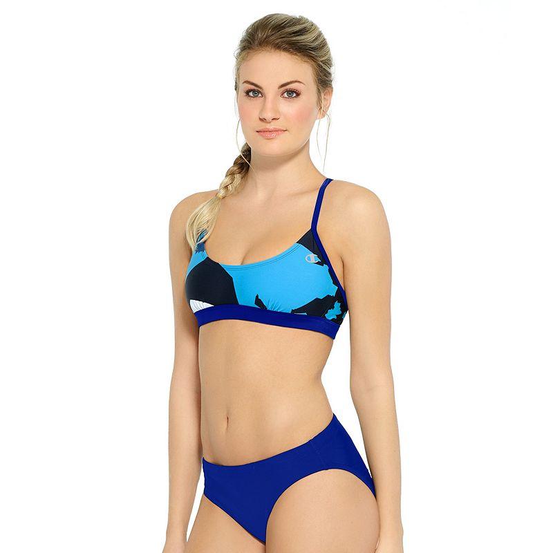 Women's Champion Abstract Bikini Top