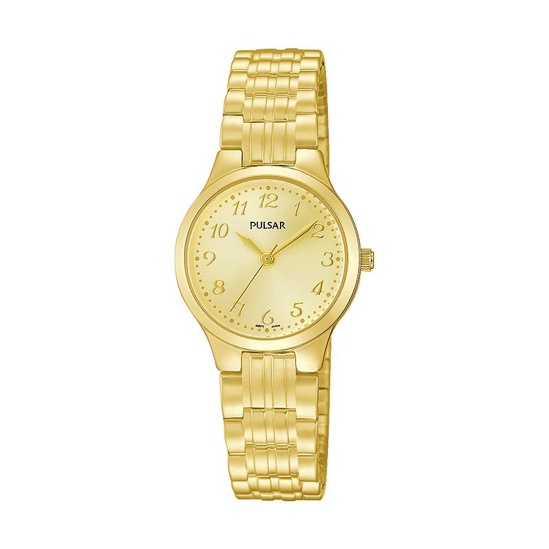 Pulsar Women's Traditional Stainless Steel Expansion Watch - PG2034