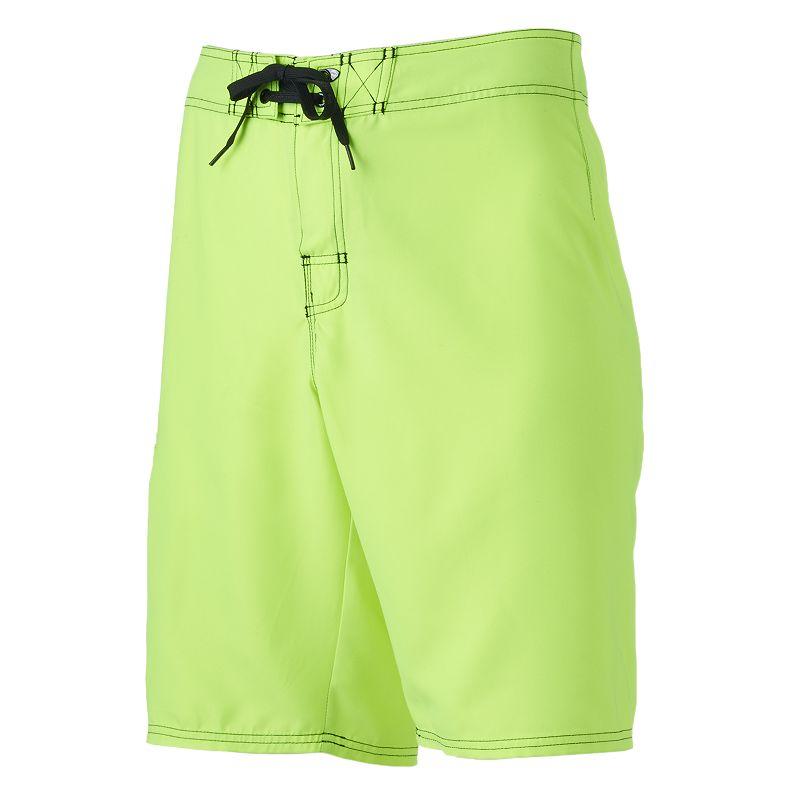 Men's Hang Ten Neon Cargo Swim Shorts