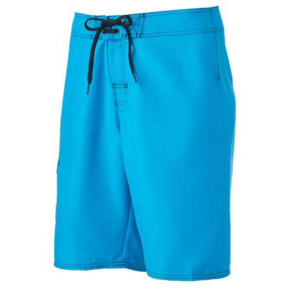 Men's Hang Ten Solid Cargo Swim Shorts