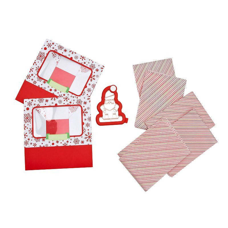 Sweet Creations Holiday Santa Cookie Cutter Box Set