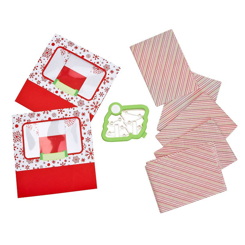 Sweet Creations Holiday Christmas Tree Cookie Cutter Box Set