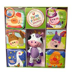 Kidsbooks Farm Friends Baby Gift Set