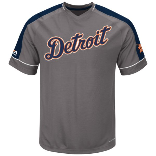 Men's Majestic Detroit Tigers Dominant Campaign Tee