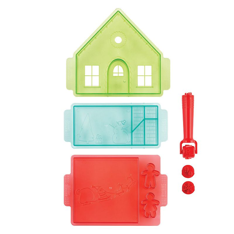 Sweet Creations 7-pc. Gingerbread House Cutter Set
