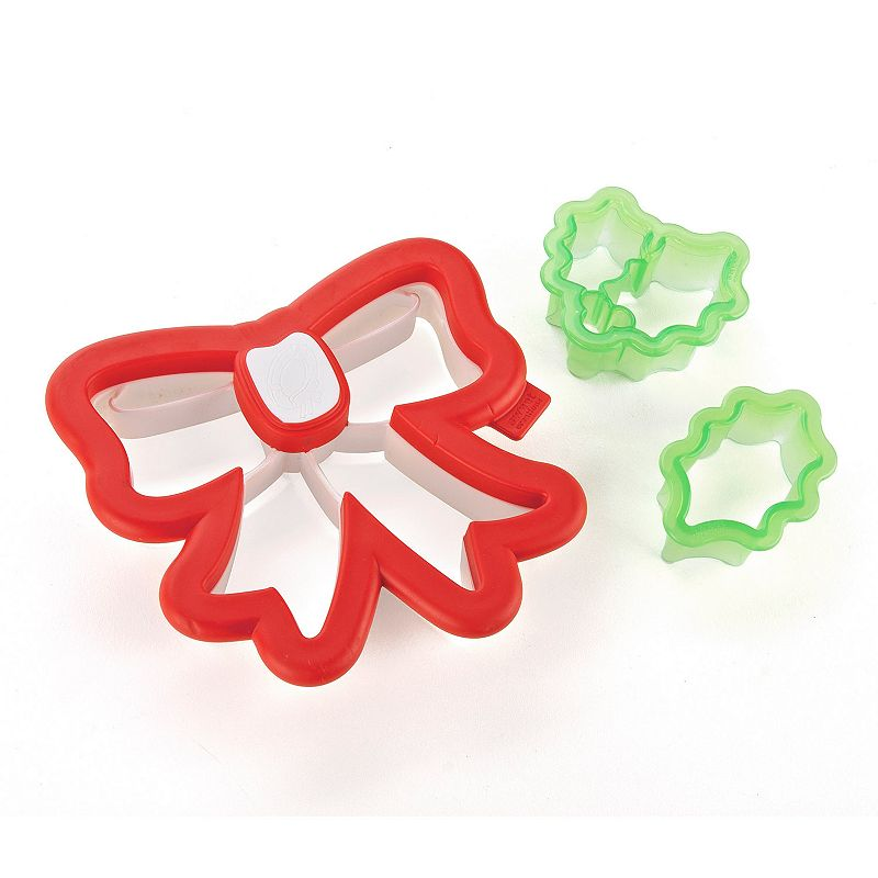 Sweet Creations 3-pc. Wreath Cookie Cutter Set
