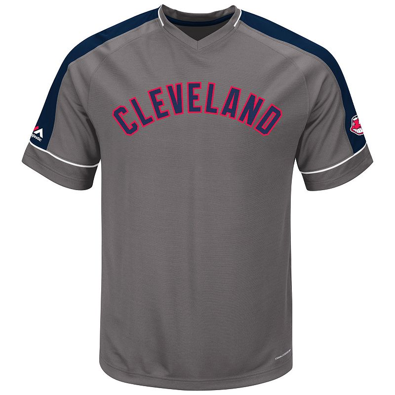Men's Majestic Cleveland Indians Dominant Campaign Tee