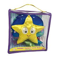 Kidsbooks Jiggle & Discover Twinkle, Twinkle, Little Star Plush Book