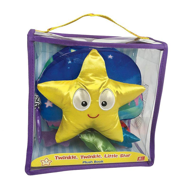 Kidsbooks Jiggle & Discover Twinkle, Twinkle, Little Star Plush Book