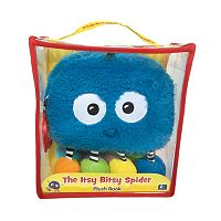 Kidsbooks Jiggle & Discover The Itsy Bitsy Spider Plush Book