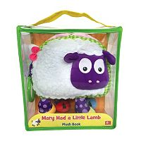 Kidsbooks Jiggle & Discover Mary Had A Little Lamb Plush Book