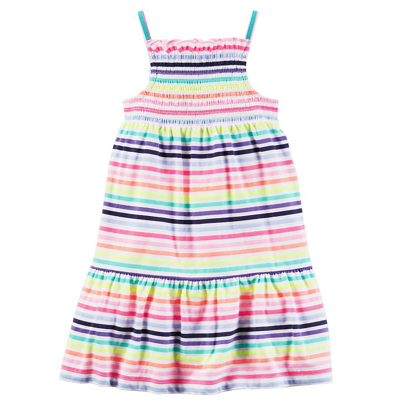Girls 4-8 Carter's Smocked Knit Dress