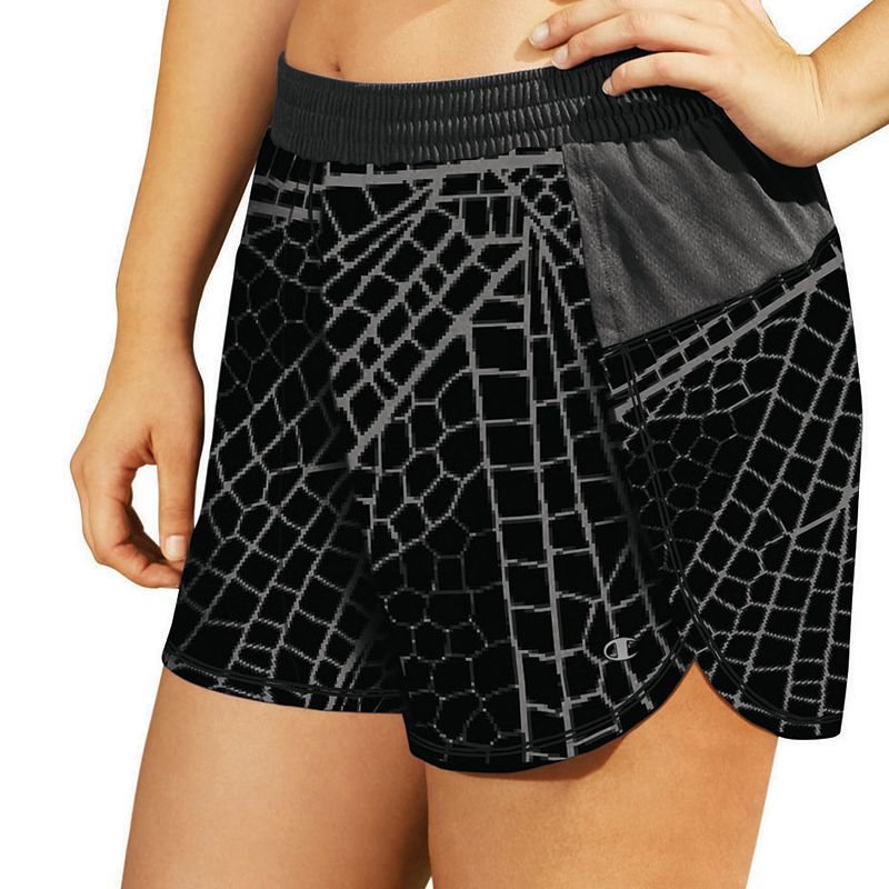 Plus Size Champion Sport 5 Printed Woven Shorts