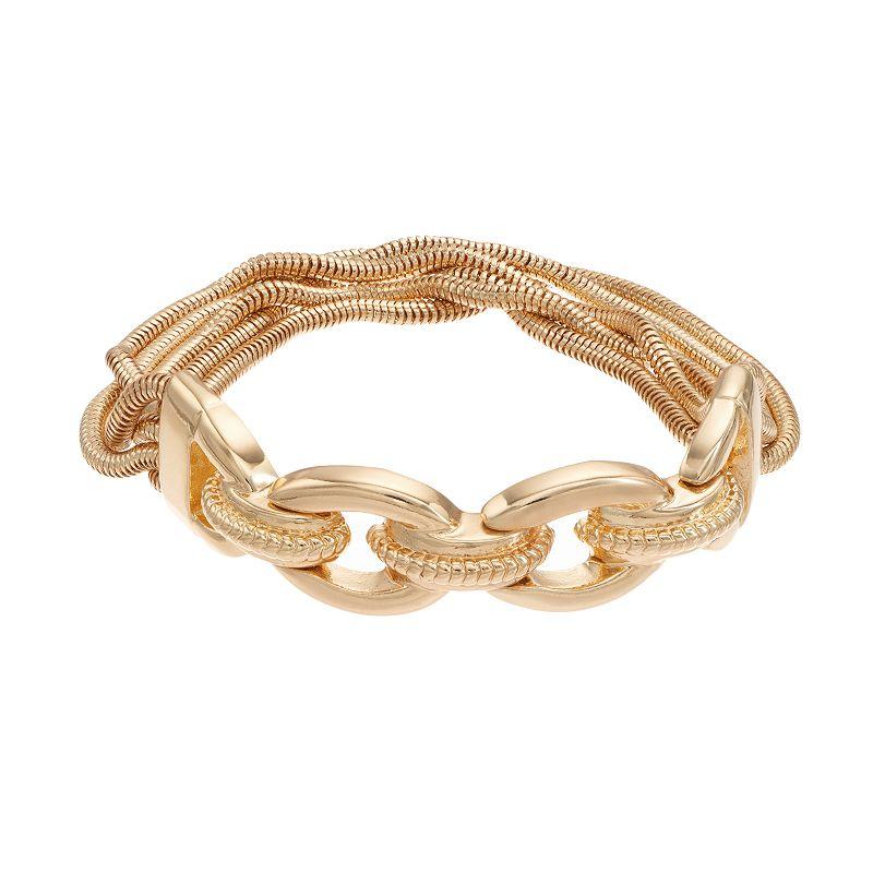 Dana Buchman Snake Chain Stretch Bracelet