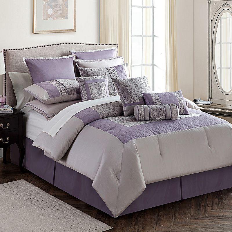purple bedroom comforter set kohl 39 s