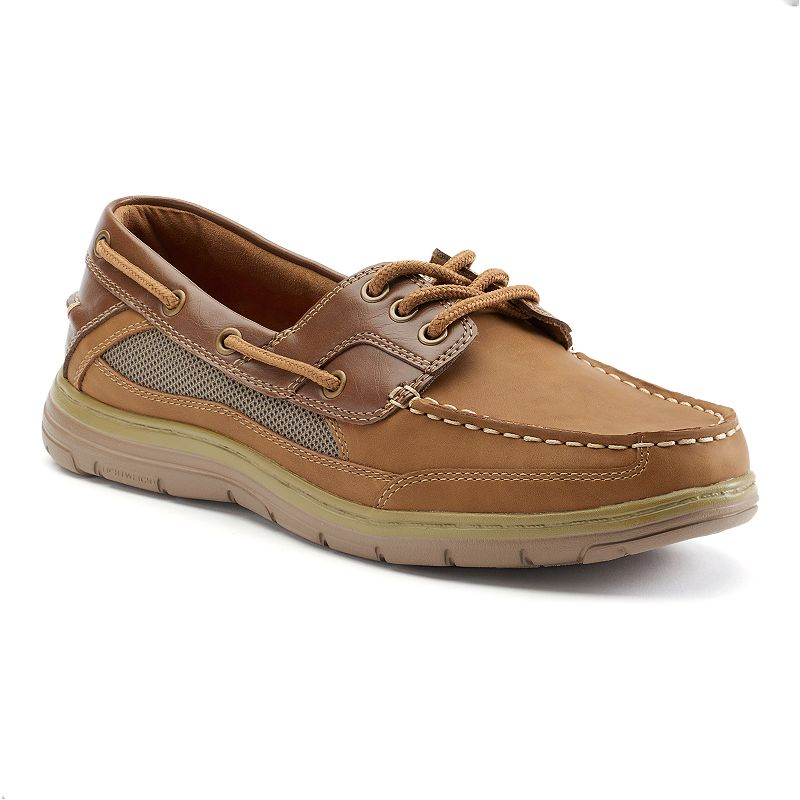 Croft & Barrow® Men's Lace-Up Boat Shoes
