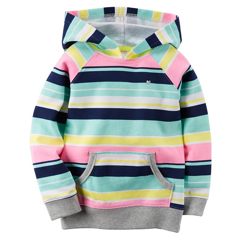 Girls 4-8 Carter's French Terry Hoodie