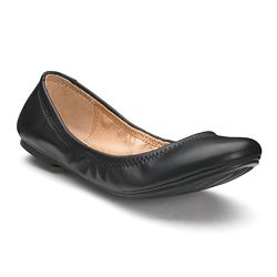 Sonoma Goods for Life Womens Leather Ballet Flats (Multi Colors)