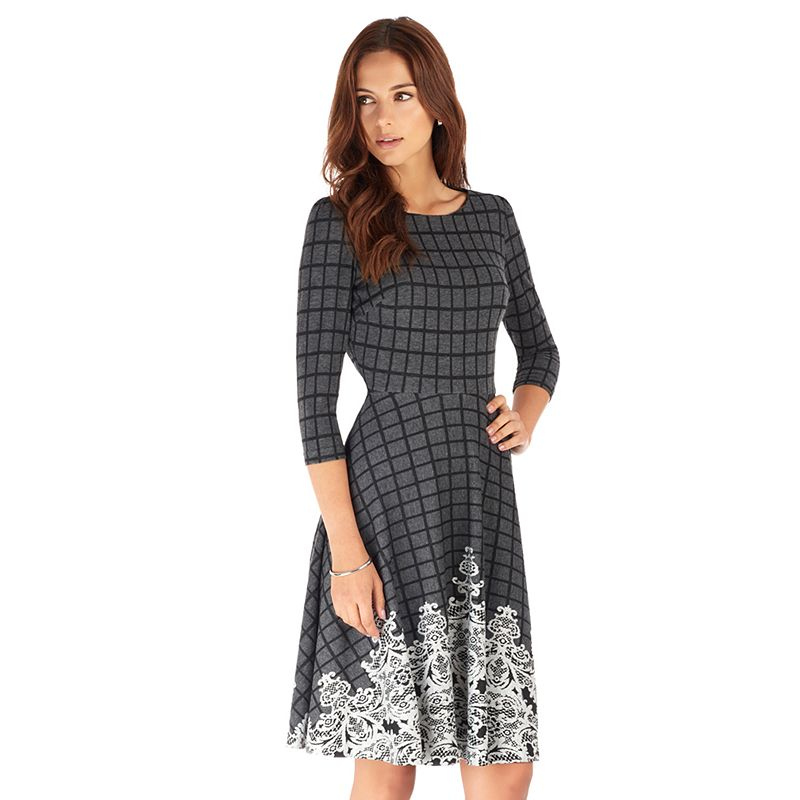 Women's Indication by ECI Fit & Flare Dress