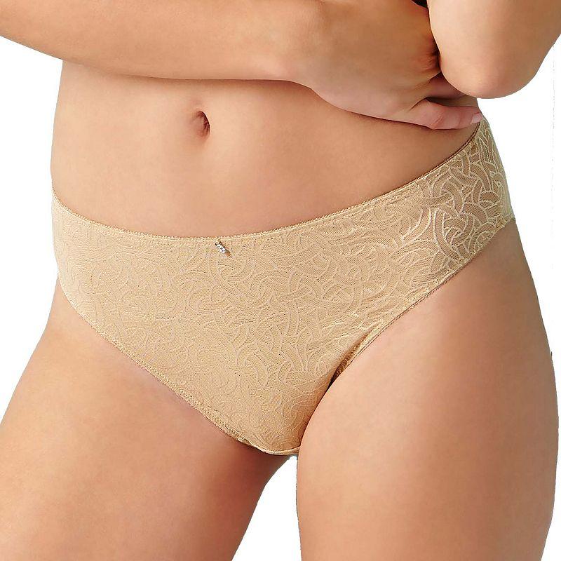 Montelle Intimates Naturelle High-Cut Mesh Bikini Panty 9189