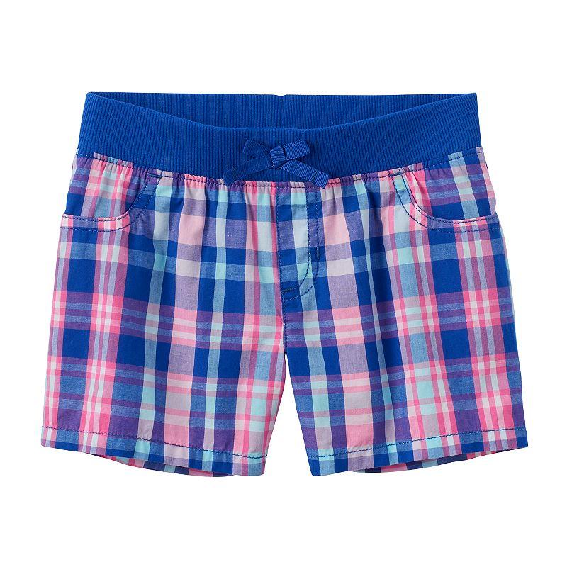 Girls 4-7 Jumping Beans® Plaid Shorts