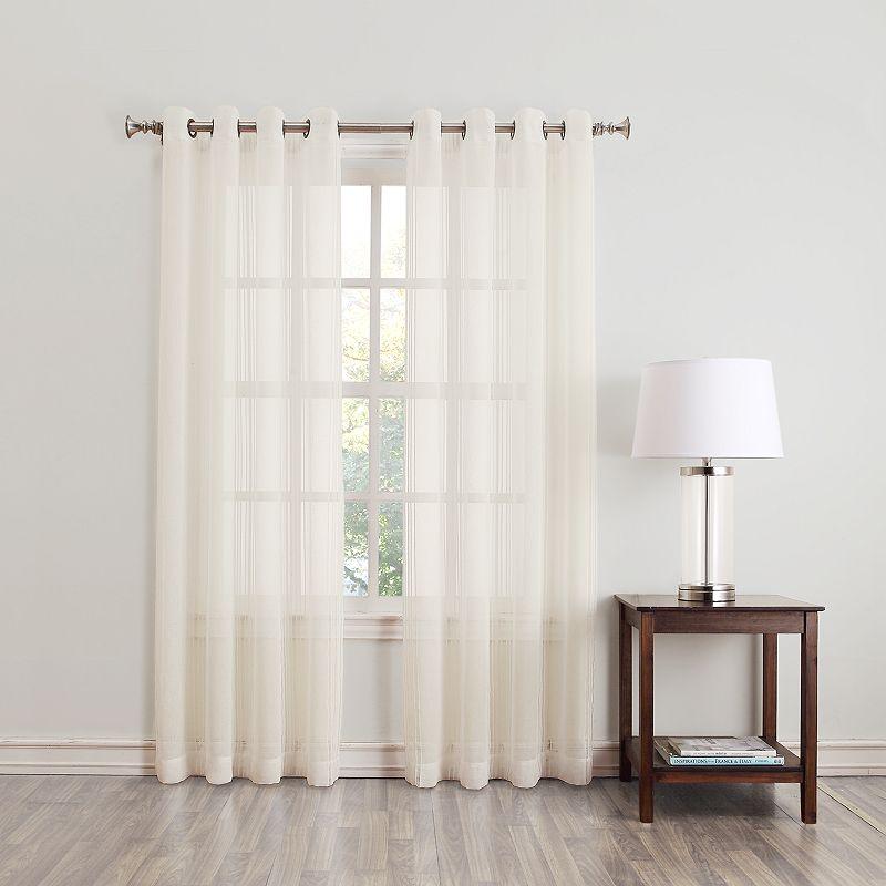 home classics geneva sheer curtain