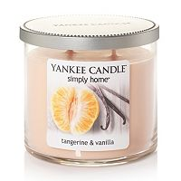 Yankee Candle simply home Tangerine & Vanilla 10-oz. Jar Candle