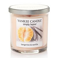Yankee Candle simply home Tangerine & Vanilla 7-oz. Jar Candle
