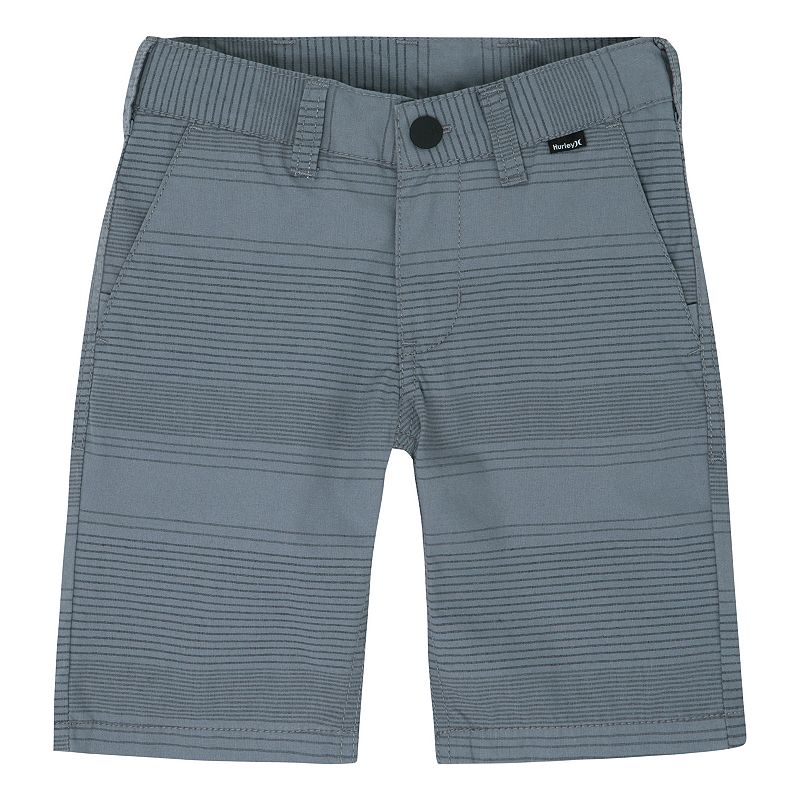 Boys 4-7 Hurley Faded Striped Shorts