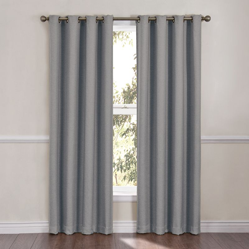 Kohl S Kitchen Curtains: Eclipse Hayward Thermaweave Blackout Thermal Curtain