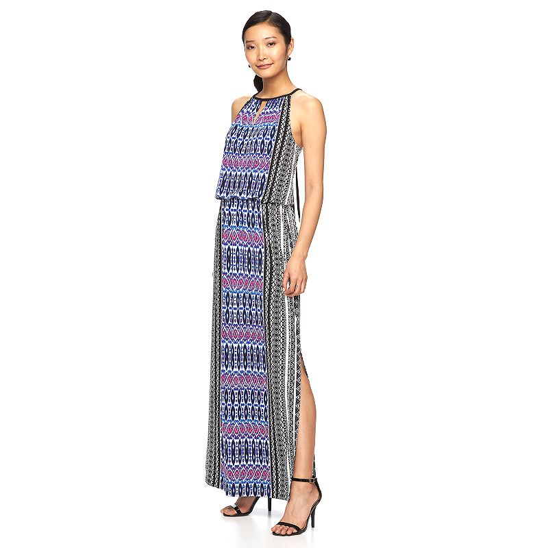 Women's Suite 7 Blouson Maxi Dress