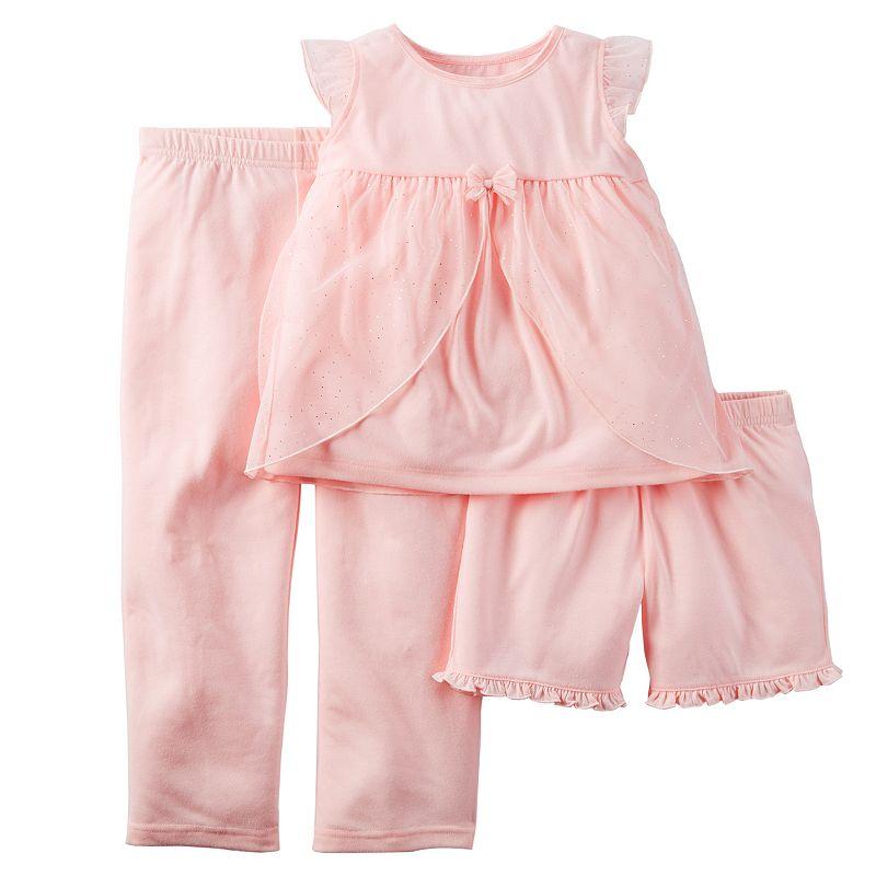 Girls 4-14 Carter's Dress-up Pajama Set