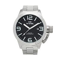 TW Steel Men's Canteen Stainless Steel Watch - CB2