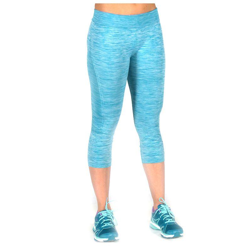 Women's Ryka Recharge Ruched Capri Workout Leggings